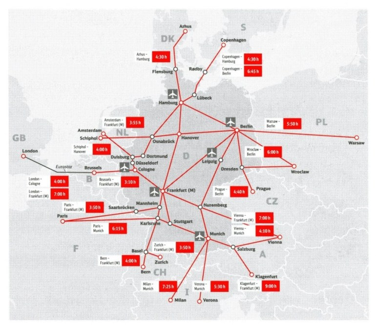 Ultimate Guide To Germany Railway | G2Rail Blog with German Rail Map Bavaria