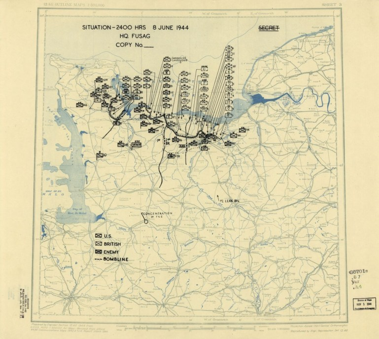 World War Ii Military Situation Maps, Available Online | Library Of throughout German Military Maps Ww2
