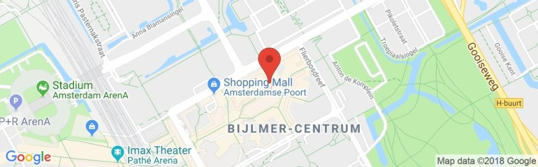 Bewapend Drietal Overvalt Mcdonald'S Op Bijlmerplein - At5 throughout Porsche Arena Stuttgart Google Maps