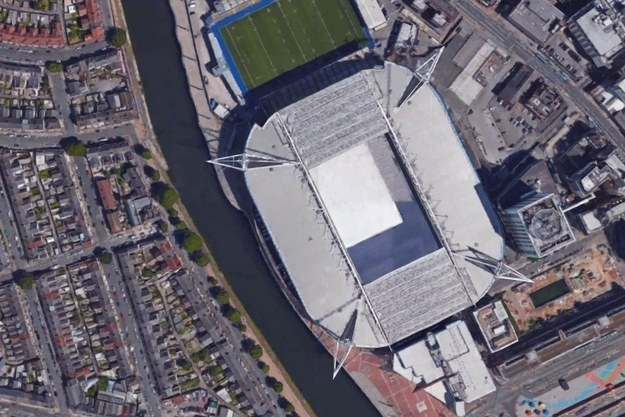 Can You Identify These European Football Stadiums From The in Google Maps Porsche Arena Stuttgart