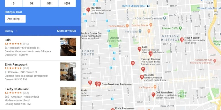 Google Maps Could Be The Do-It-All Restaurant App Of The inside Google Maps Restaurants Stuttgart