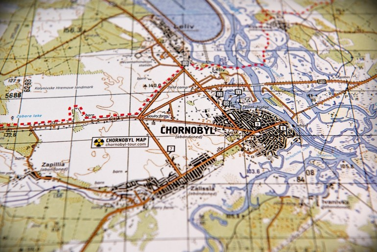 The First Full Detailed Map Of The Chornobyl Zone With in Stuttgart Zone Map English