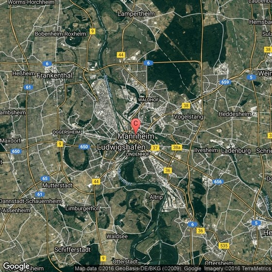 Things To Do In Mannheim, Germany | Usa Today for Google Maps Stuttgart Feuersee