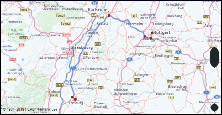 What Is The Distance From Freiburg Germany To Stuttgart throughout Google Maps Stuttgart Sillenbuch