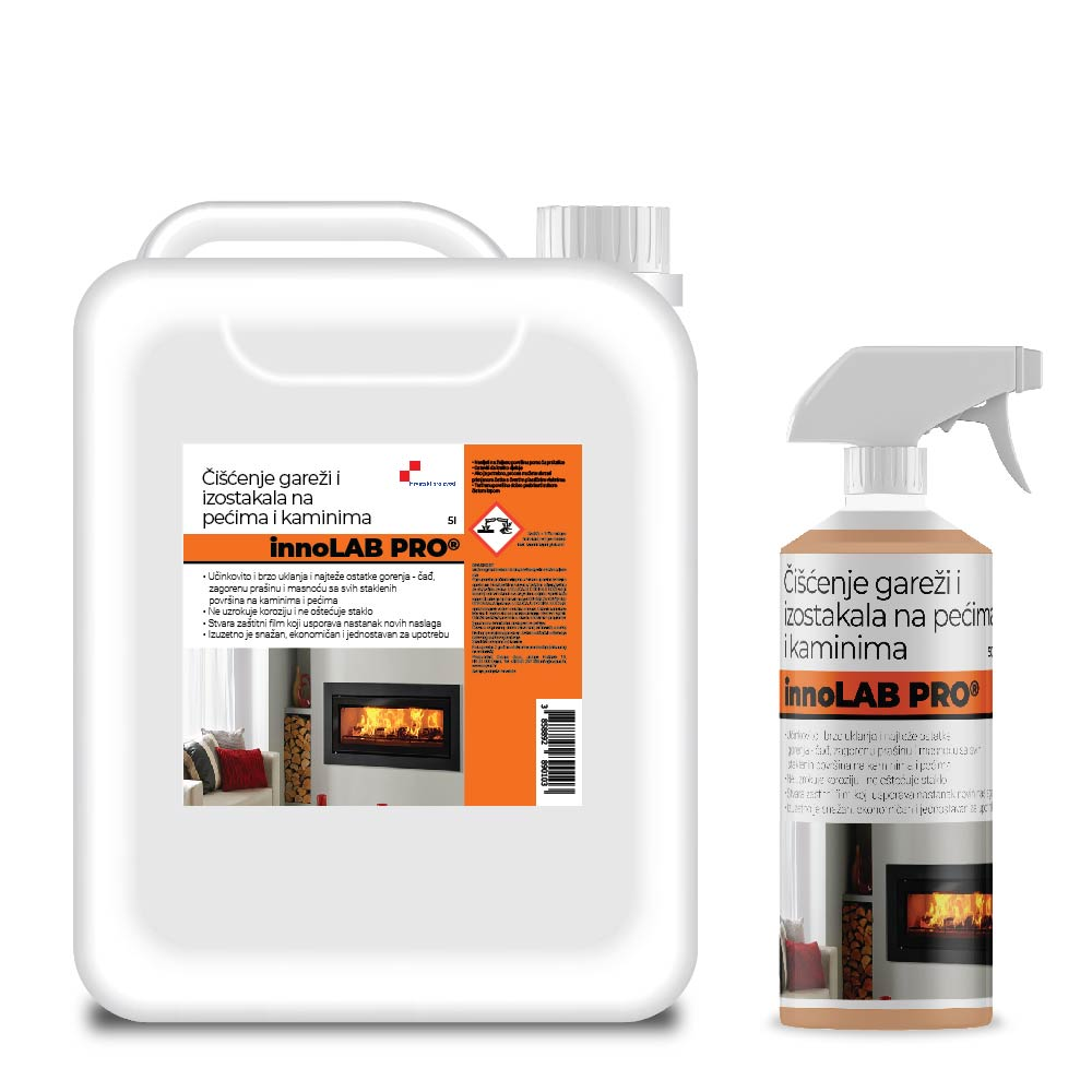 Cleaner For Oven And Fireplace Glass And Soot