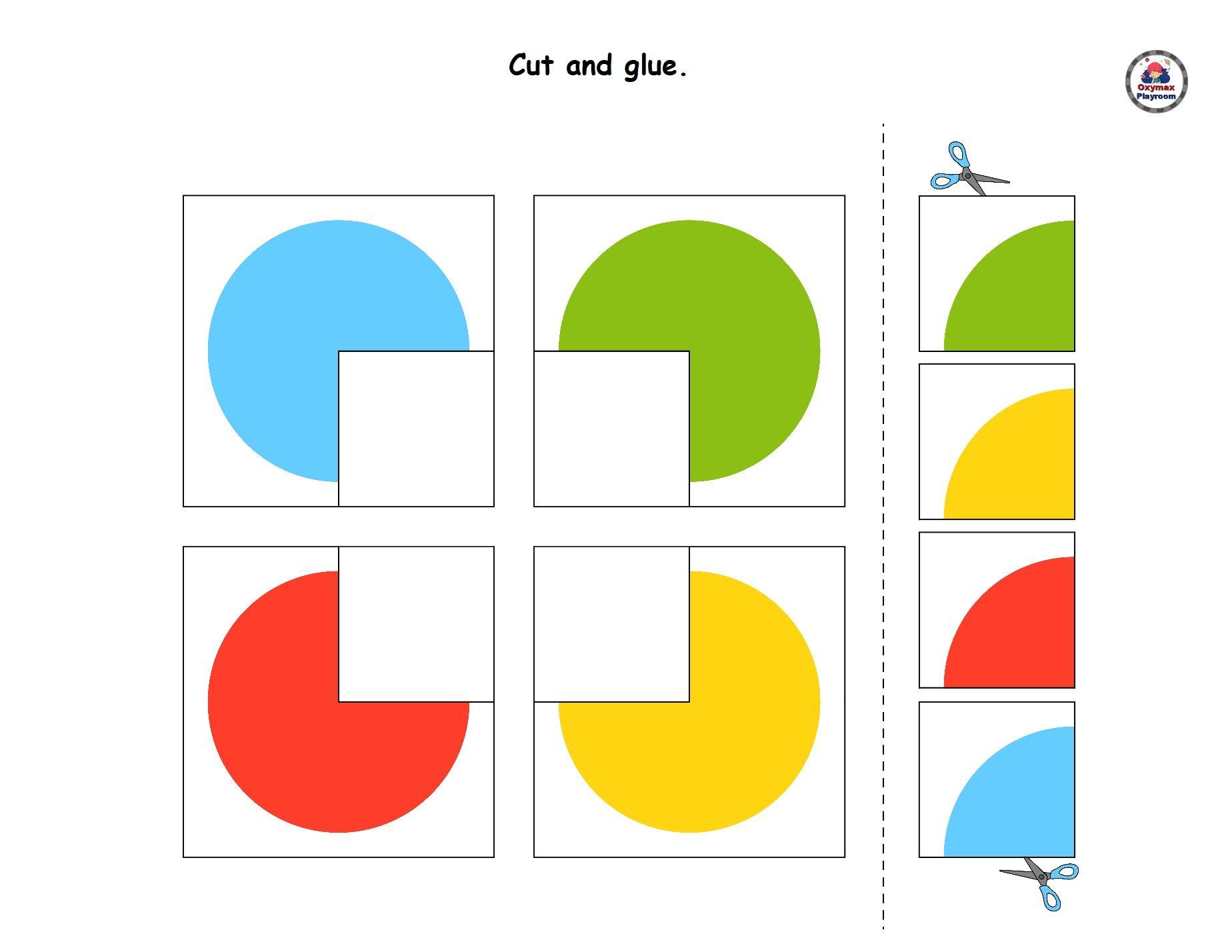 30 Scissors Skills Worksheets For Kids