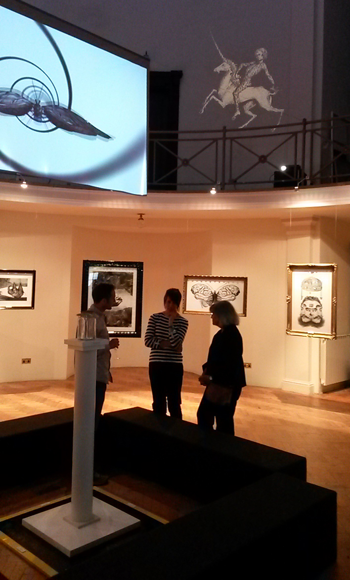 Benjamin Oliver OXYOPIA exhibition 2014. Photo by Chris Morland