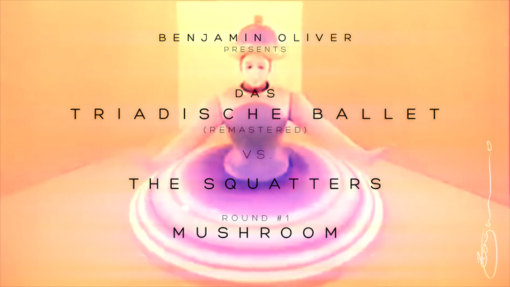 Benjamin Oliver The Squatters Mushroom Oxyopia