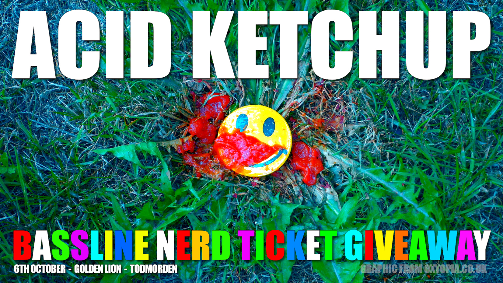Acid Ketchup Bassline Nerd Ticket Give-away #01