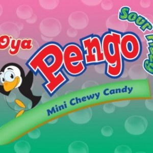 Pengo Sour Fizzy Mini Chewy Candy