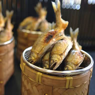 焼物-若鮎の塩焼き