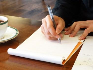ペンの持ち方が悪いと痛い原因に?正しくペンを持ちましょう
