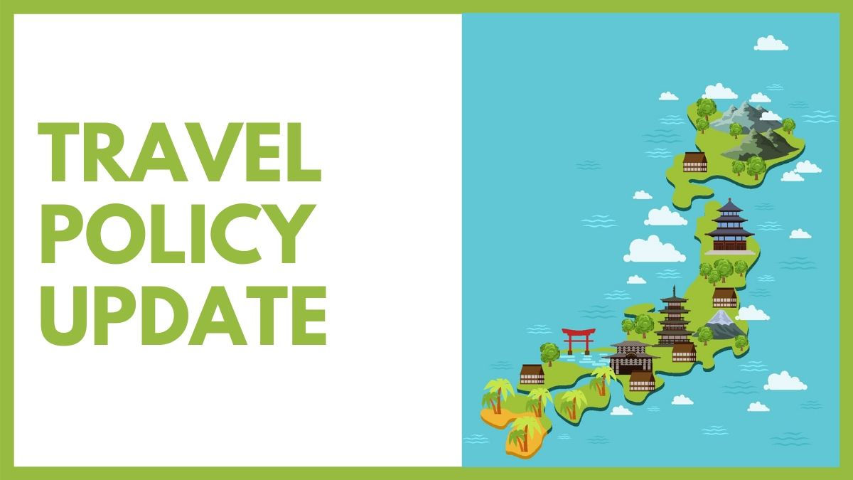 Update: Travel Policy Revisions