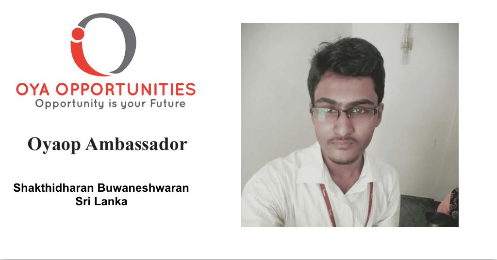 Shakthidharan Buwaneshwaran