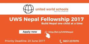 United World Schools Teaching Fellowship Program Nepal
