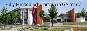 Fully Funded Scholarship in Germany