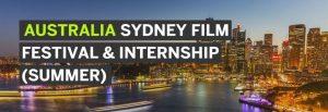 Sydney Film Festival and Internship Program 2018
