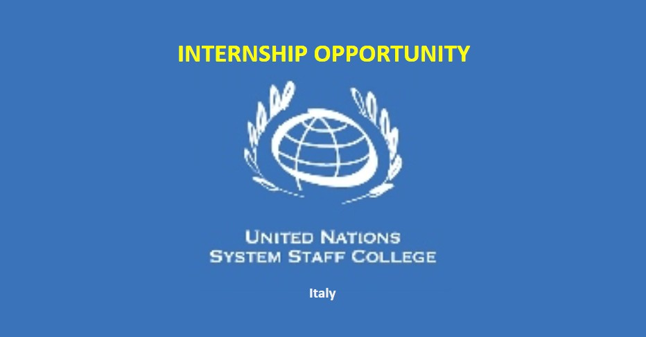 Paid Internship at UNSSC in Italy