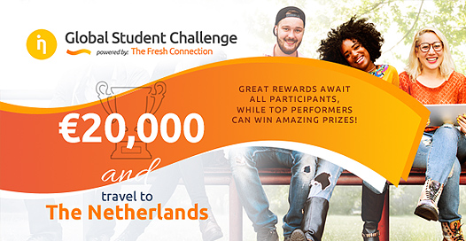 Fully Funded Global Student Challenge 2018 in Netherlands