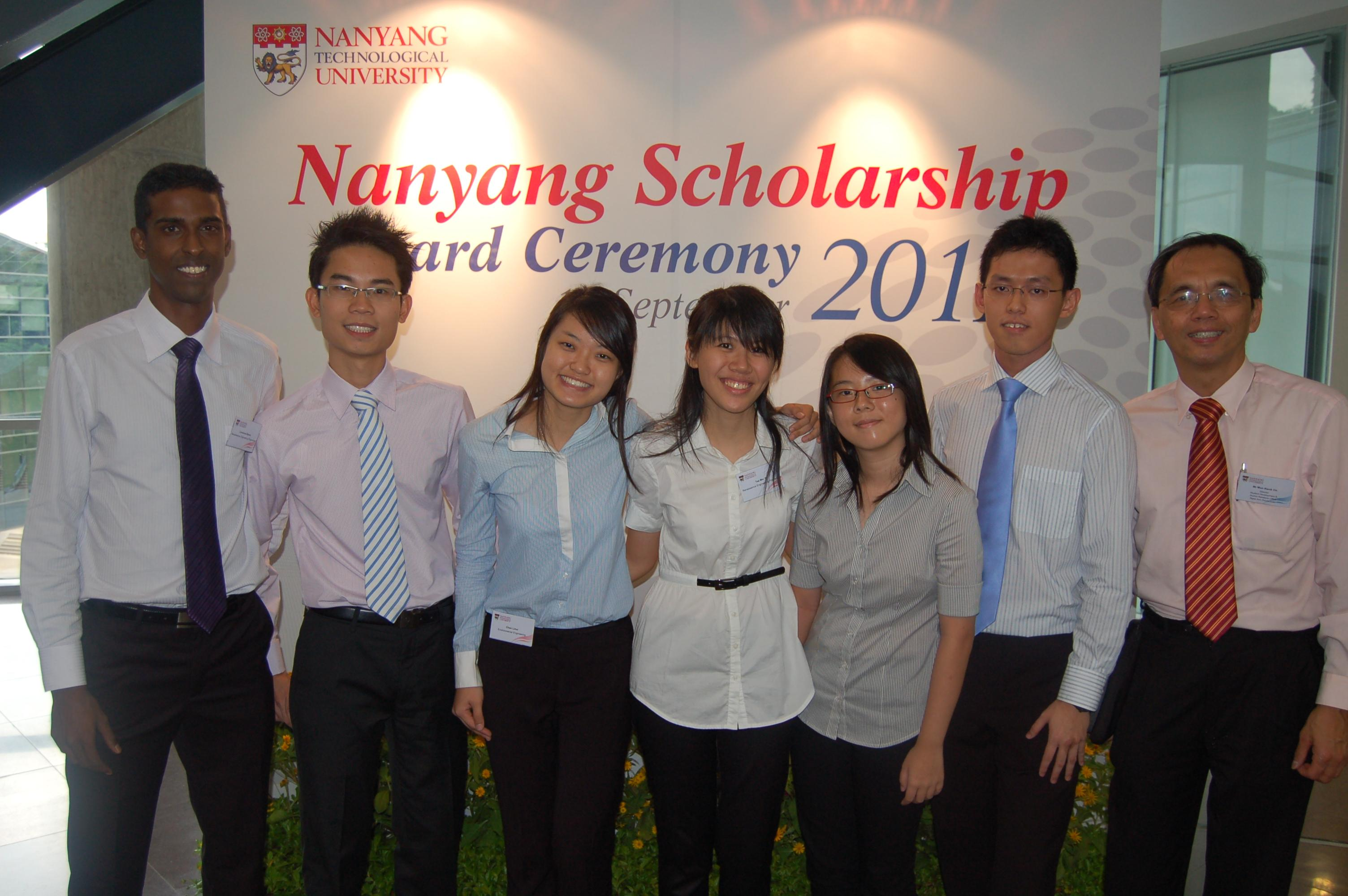 Fully Funded Nanyang Scholarship in Singapore