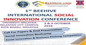 Beehive International Social Innovation Conference in Malaysia