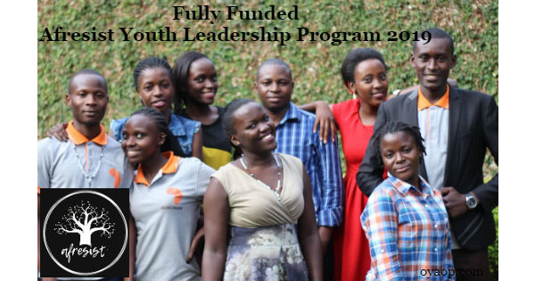 Fully Funded Afresist Youth Leadership Program 2019 in