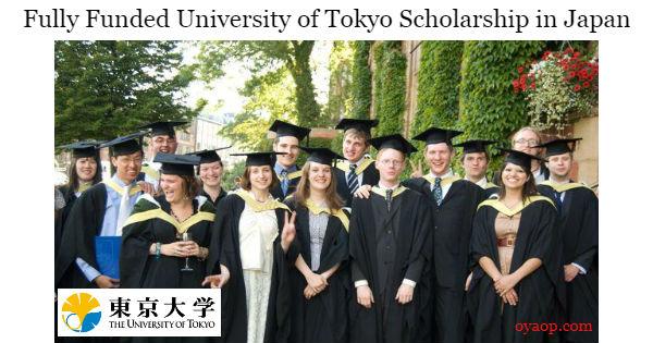 University of Tokyo Scholarship