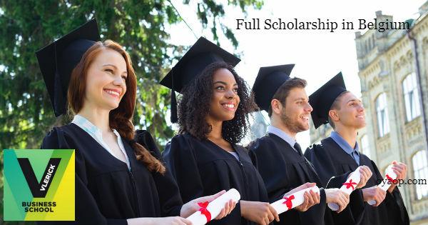 Full Scholarship in Belgium