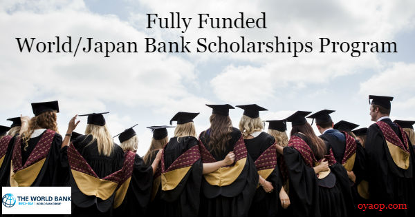 World/Japan Bank Scholarships