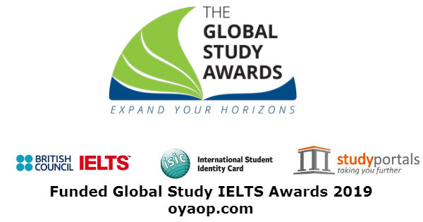 Funded Global Study IELTS Awards 2019