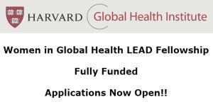 Fully Funded LEAD Fellowship Program 2019 at Harvard University