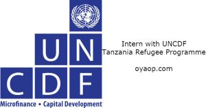 Intern with UNCDF Tanzania Refugee Programme