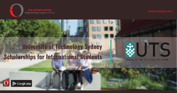 University of Technology Sydney Scholarships for International Students