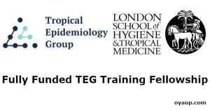 Fully Funded TEG Training Fellowship