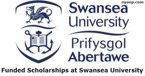 Funded Scholarships at Swansea University