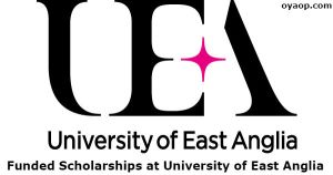 Funded Scholarships at University of East Anglia