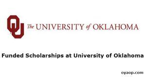 Funded Scholarships at University of Oklahoma