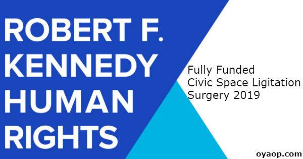Fully Funded Civic Space Ligitation Surgery 2019