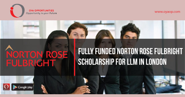 Fully Funded Norton Rose Fulbright Scholarship for LLM in London