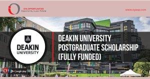 Deakin University Postgraduate Scholarship (Fully Funded), oyaop, oyaop.com, www.oyaop.com, oyaop opportunities, oya opportunities
