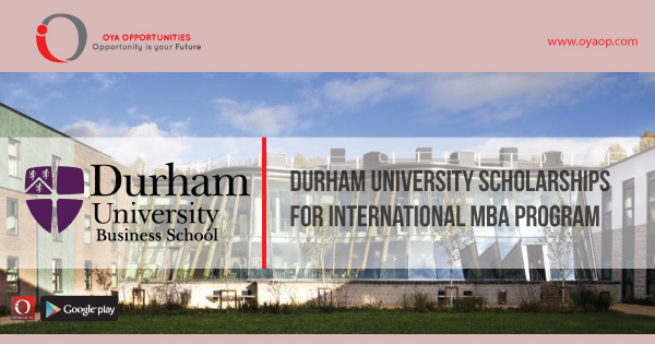 Durham University Scholarships for International MBA program