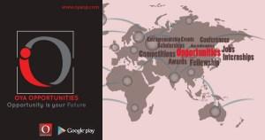 Fully Funded Academic & Conference Scholarship 2019, oyaop, oyaop.com, www.oyaop.com, oyaop opportunities, oya opportunities