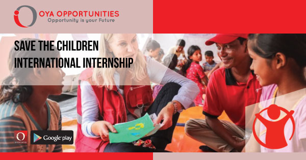 Save the Children International Internship