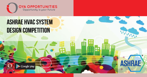 ASHRAE HVAC System Design Competition - OYA Opportunities | OYA