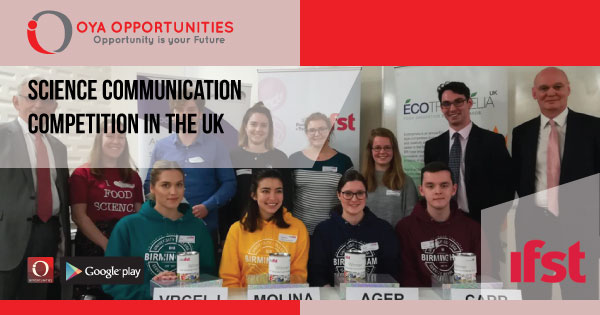 Science Communication Competition in the UK