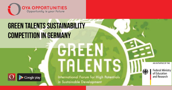 Green Talents Sustainability Competition in Germany