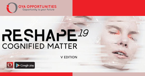 Reshape'19 Wearable Technology Fashion Competition