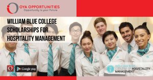 William Blue College Scholarships for Hospitality Management