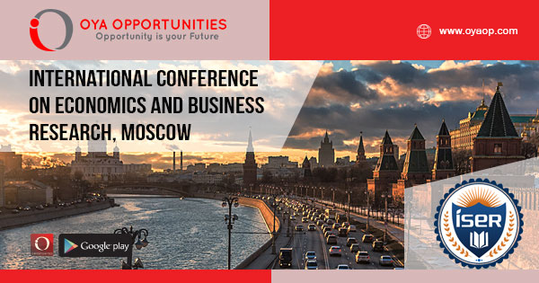 Conference on economics and business research, moscow