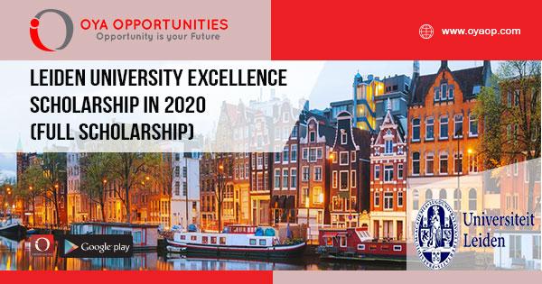 Leiden University Excellence Scholarship In 2020 Full Scholarship